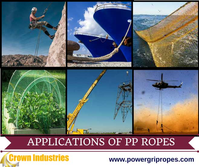 Application of Polypropylene Ropes